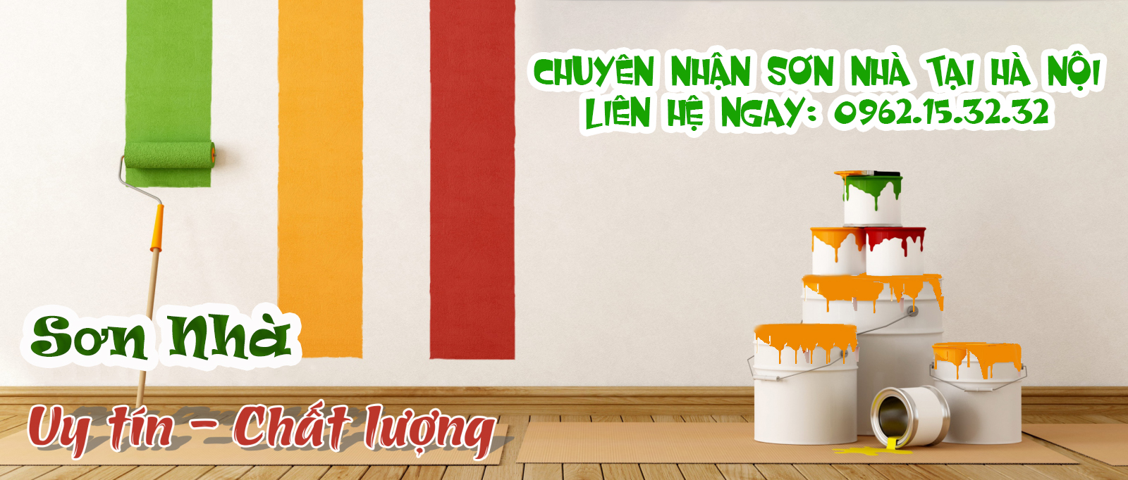 Cần sơn nhà tại Ba Đình giá rẻ - Gọi ngay 0962.15.32.32