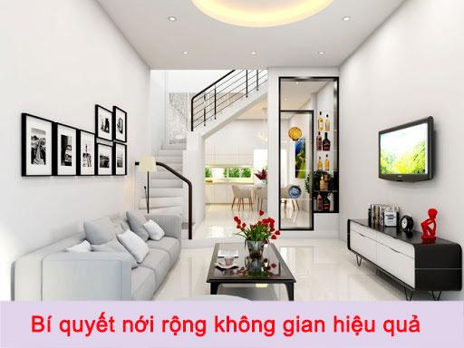 Bí quyết nới rộng không gian hiệu quả cho những ngôi nhà diện tích nhỏ hẹp