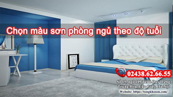 Chọn màu sơn phòng ngủ theo độ tuổi