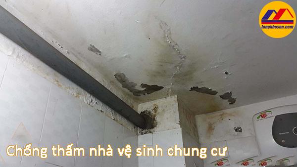 Chống thấm nhà vệ sinh chung cư chuẩn xác nhất