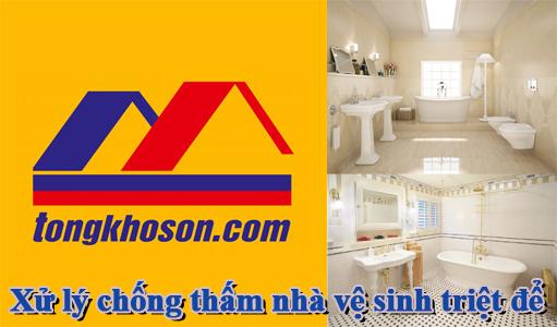 Biện pháp xử lý chống thấm nhà vệ sinh triệt để