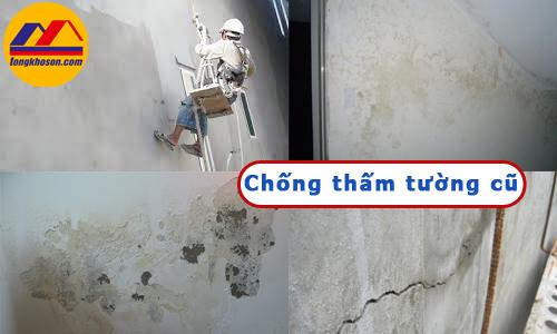 Giải pháp chống thấm tường cũ