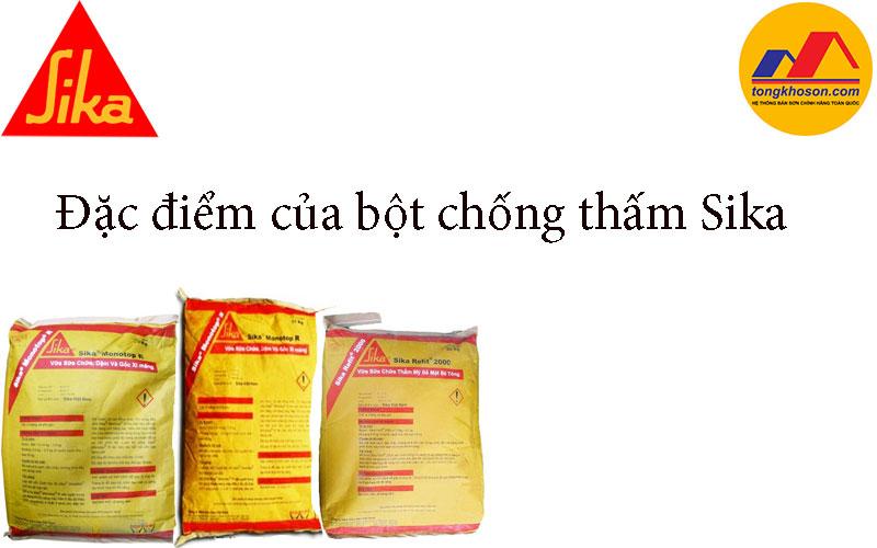 Đặc điểm của bột chống thấm Sika có thể bạn chưa biết