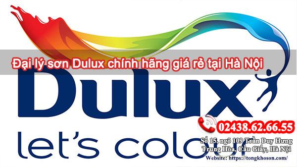 Đại lý sơn Dulux chính hãng giá rẻ tại Hà Nội