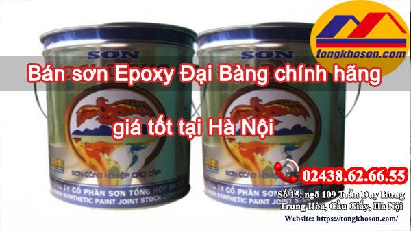 Bán sơn Epoxy Đại Bàng chính hãng, giá tốt tại Hà Nội