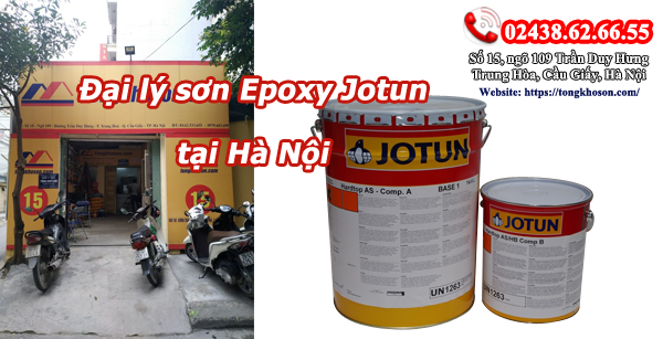 Đại lý sơn epoxy Jotun giá rẻ chính hãng tại Hà Nội