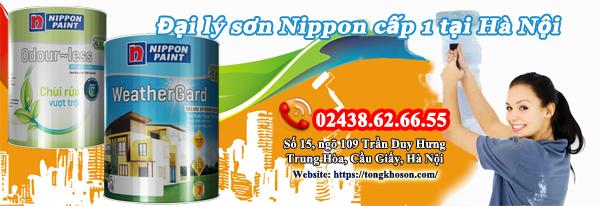 Đại lý sơn Nippon cấp 1 tại Hà Nội