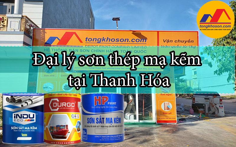 Đại lý sơn thép mạ kẽm tại Thanh Hóa