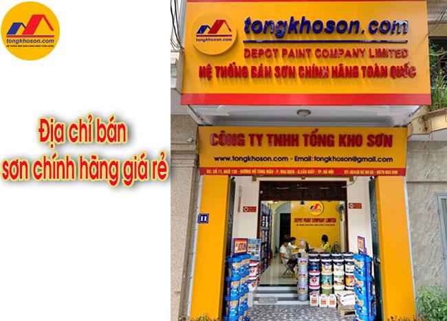 Địa chỉ mua sơn Spentec chính hãng giá rẻ tại Hà Nội