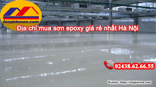 Địa chỉ mua sơn epoxy giá rẻ nhất Hà Nội