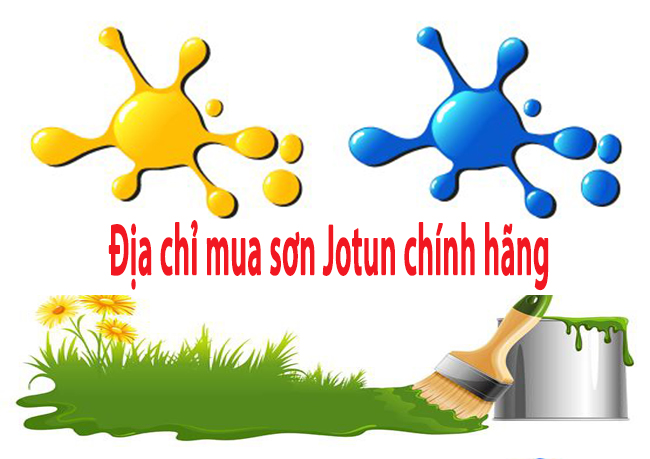 Địa chỉ mua sơn Jotun chính hãng