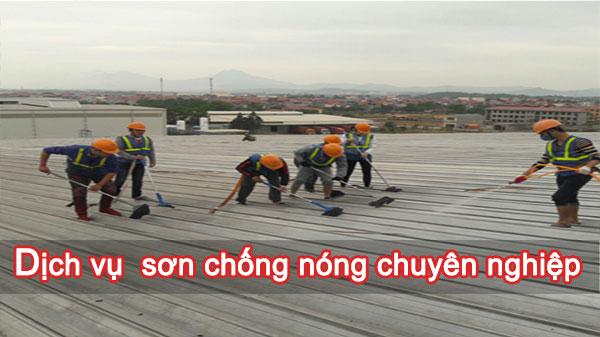 Dịch vụ sơn chống nóng chuyên nghiệp tại Hà Nội