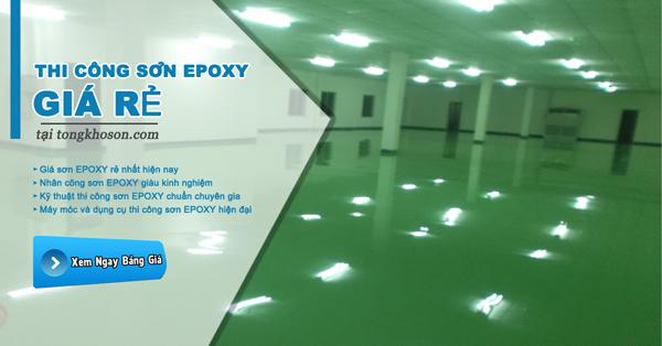 Đại lý sơn Epoxy giá rẻ nhất tại Hà Nội
