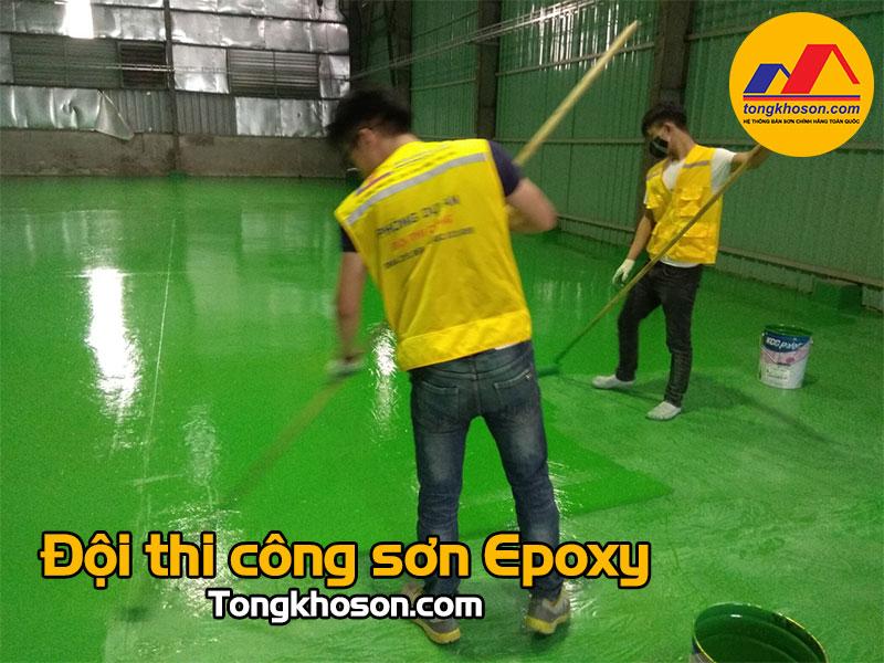 Giới thiệu đội thi công sơn Epoxy của tongkhoson.com