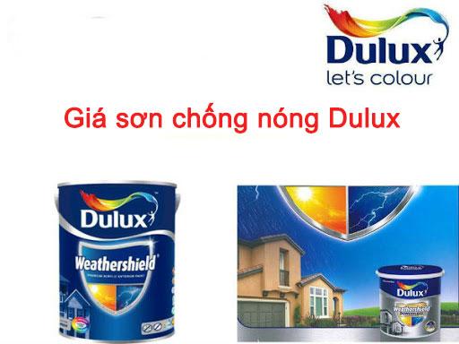 Giá sơn chống nóng Dulux