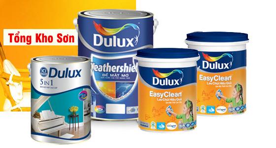 Giá 1 thùng sơn Dulux bao nhiêu tiền?