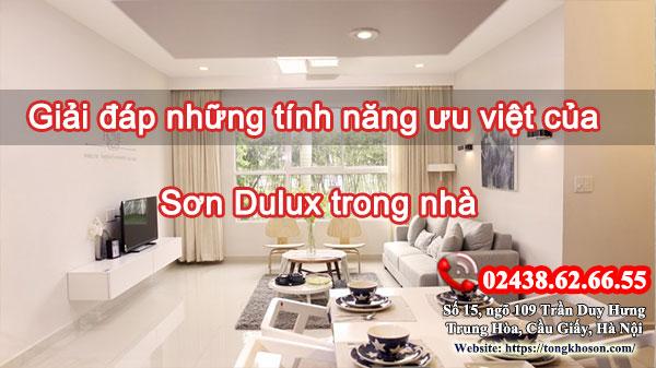 Giải đáp những tính năng ưu việt của sơn Dulux trong nhà
