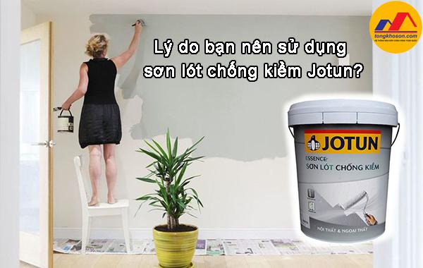 Lý do bạn nên sử dụng sơn lót chống kiềm Jotun?