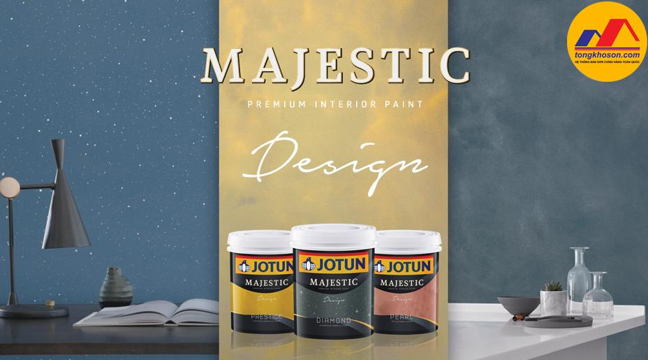 Majestic Design - sơn nội thất hiệu ứng sang trọng cho ngôi nhà của bạn