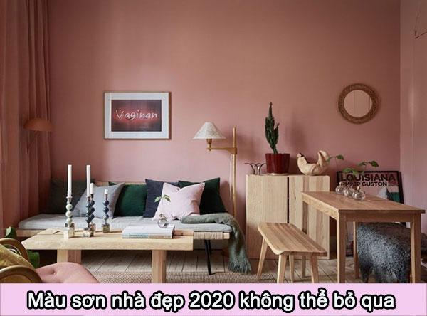 Màu sơn nhà đẹp 2020 không thể bỏ qua