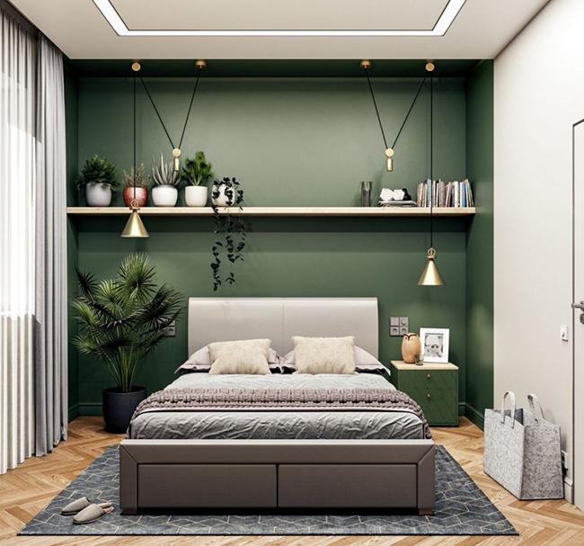 Bí quyết sơn phòng ngủ đẹp xuất sắc cùng màu sơn Takira