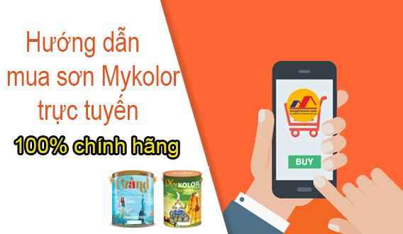 Hướng dẫn mua sơn Mykolor Online