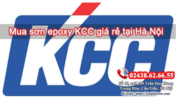 Mua sơn epoxy KCC giá rẻ tại Hà Nội