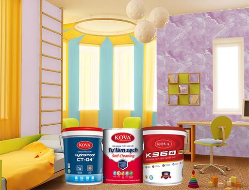 Có phải bạn đang cần địa chỉ bán sơn Kova tại kho nhà máy?