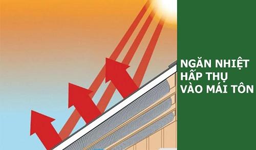 Sơn phản quang chống nóng mang lại khả năng giảm nhiệt hiệu quả
