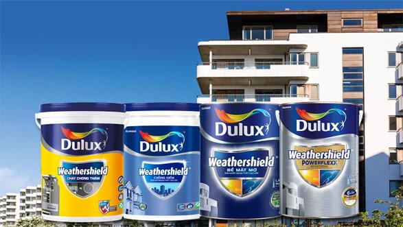 Sơn Dulux WeatherShield có những loại nào?