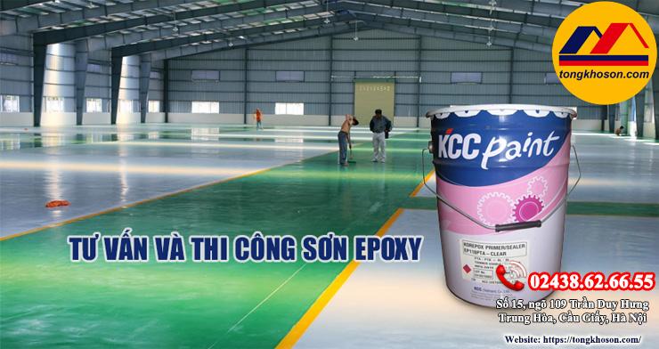 Top sơn Epoxy KCC bán chạy nhất hiện nay