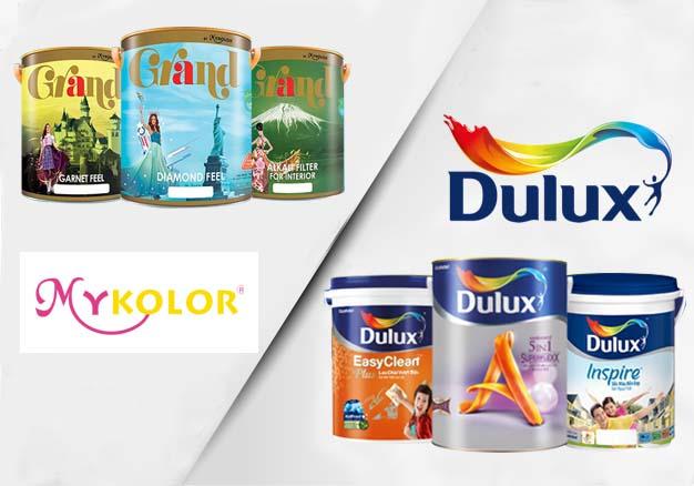 So sánh sơn Dulux và Mykolor