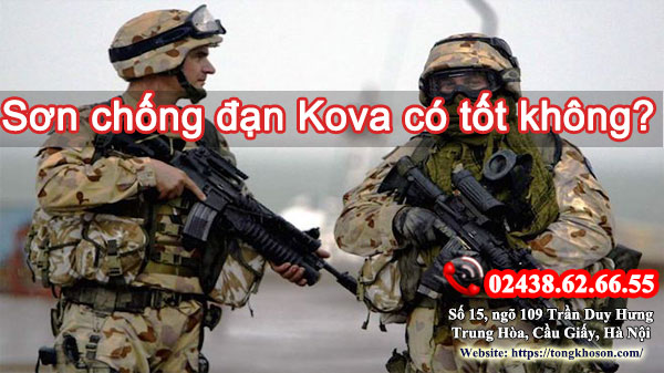 Sơn Kova chống đạn có tốt không?