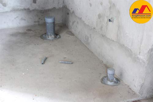 Cách chống thấm cổ ống xuyên tường bằng Sika hiệu quả nhất