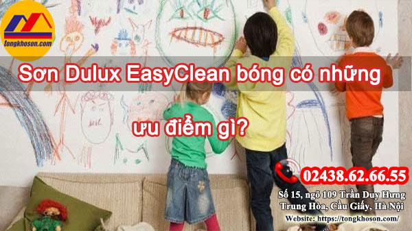 Sơn Dulux EasyClean bóng có những ưu điểm gì?