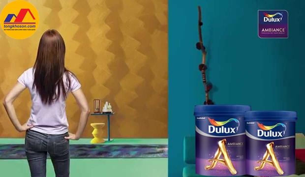 Sáng tạo không gian sống cùng sơn Dulux hiệu ứng đặc biệt