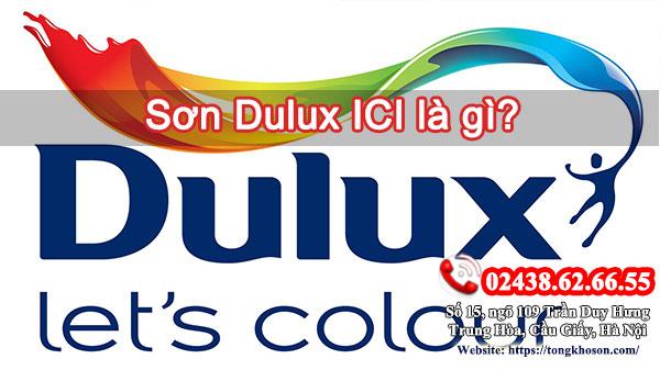 Sơn Dulux ICI là gì?