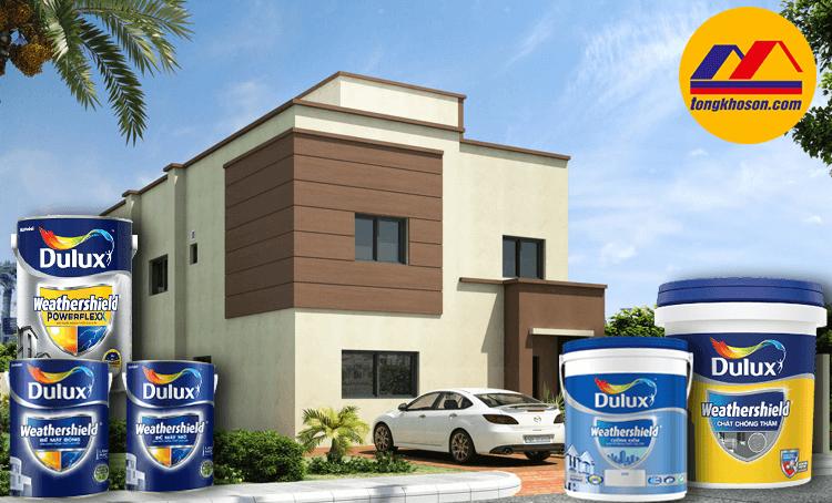 Sơn Dulux WeatherShile - giải phấp tối ưu cho tường nhà bạn