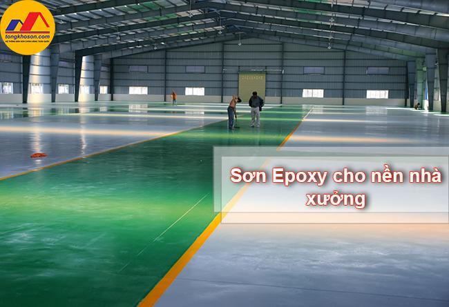 Sơn epoxy sàn nhà xưởng và những điều bạn nên biết