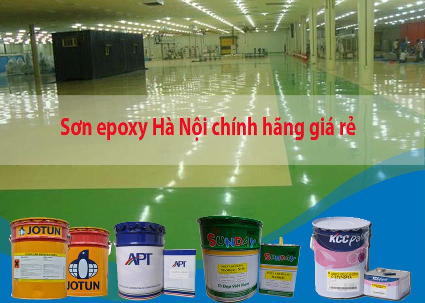 Địa chỉ bán sơn epoxy giá rẻ tại Hà Nội