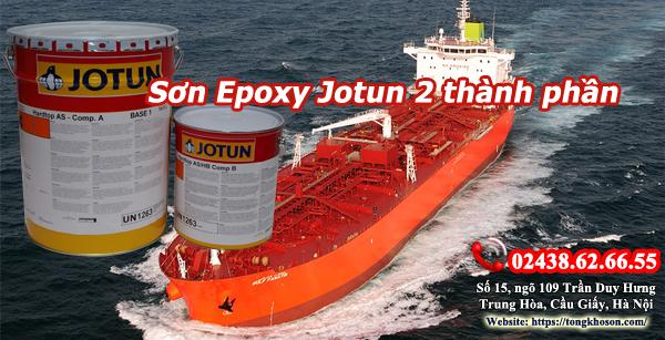 Sơn epoxy Jotun 2 thành phần