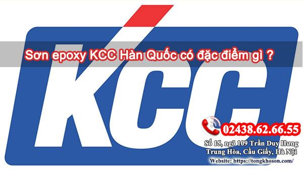 Sơn epoxy KCC Hàn Quốc có đặc điểm gì?