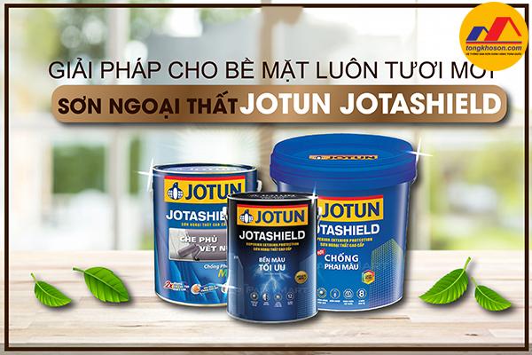 Sơn ngoại thất Jotun JotaShield – giải pháp hoàn hảo cho bề mặt luôn tươi mới