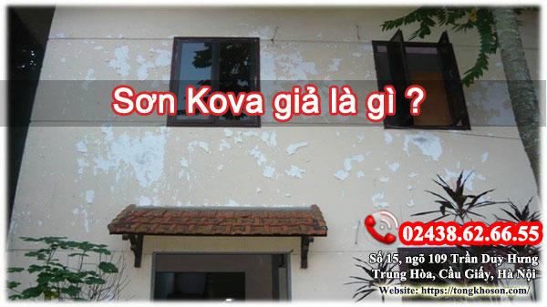 Tác hại của việc sử dụng sơn Kova giả là gì?