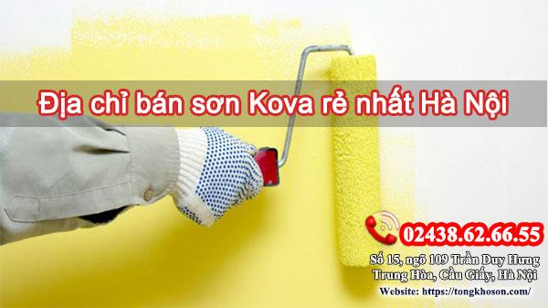 Địa chỉ bán sơn Kova rẻ nhất Hà Nội