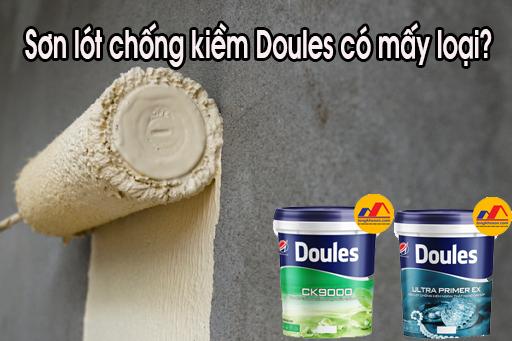 Sơn lót chống kiềm Doules có mấy loại?