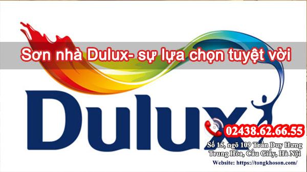 Sơn nhà Dulux - sự lựa chọn tuyệt vời