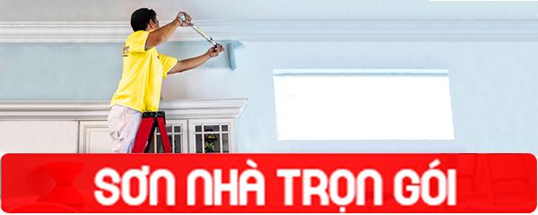 Giá sơn tường nhà trọn gói