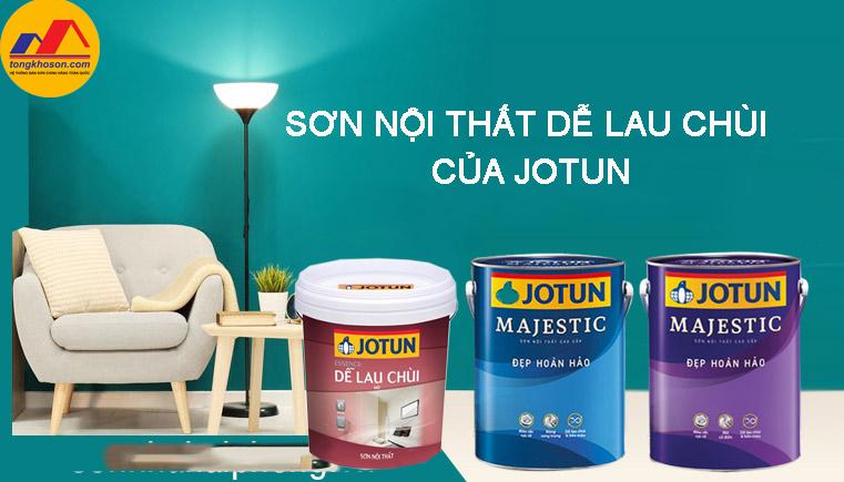 Sơn nội thất dễ lau chùi của Jotun có thể bạn chưa biết