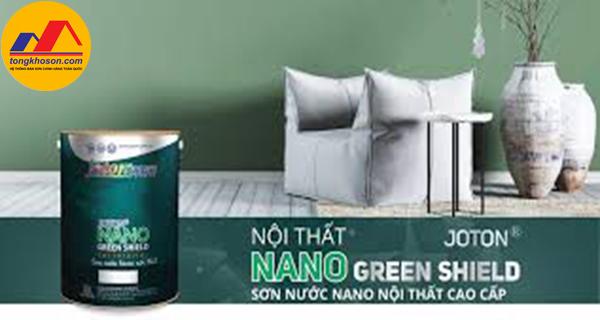 Sơn nước Joton Nano Green nội thất có tốt không?